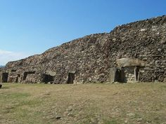 -Oldest building- Barnenez, France - around 4800 BC. The Cairn of Barnenez is considered to be a Passage grave. It is a Neolithic monument located in northern Finistère, Brittany, France. The structure is 72 m long, 25 m wide and over 8 m high.