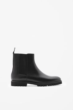 Grip-sole Chelsea boots