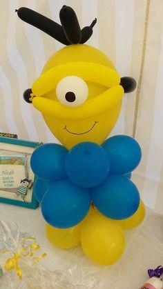 Minion aus Luftballons
