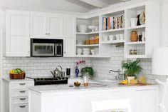 Small White Kitchen Makeover