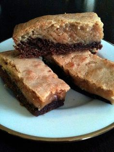"Reese's Peanut Butter Brownies! 4.25 stars, 16 reviews. ""damn good!!"""
