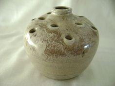 American Art Pottery/ Edith Harwell Pinewood Pottery Studio Vase/Frog / Alabama