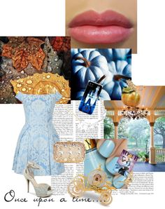 """""""Cinderella inspired look"""" by charlie-is on Polyvore"""