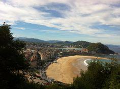 Donostia - San Sebastián desde el Monte Ulia