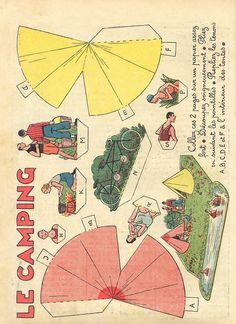 dec camping 1 - unbelievable sets of paper pop-ups