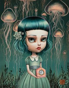 Mab Graves - A Stormcloud of Jellyfish