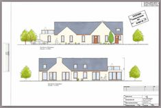 Here is an overview of our Design, Plan & Build Projects Cottage Ideas, Bungalows, House Plans, Irish, Floor Plans, Construction, House Design, How To Plan, Building