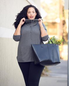 Athleisure-inspired with new Pure Jill Luxe Tencel collection - Link in Bio Casual Plus Size Outfits, Curvy Dress, Camo Print, Athleisure, Pure Products, Stylish, Lady, Womens Fashion, How To Wear
