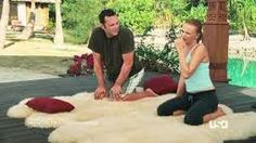 """Sheepskin Yoga Mats - they are so popular - here they are in the """"Couples Retreat"""" Movie. Bed Underlay, Sheepskin Rug, Yoga Mats, Medical, Popular, Couples, Movies, Decor, Medical Doctor"""