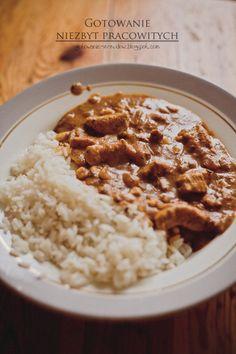 Curry z kurczakiem i kukurydzą - Gotowanie niezbyt pracowitej.