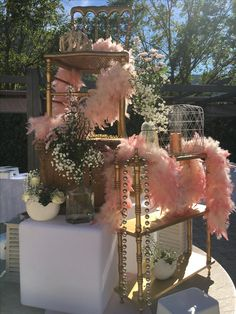 One day event, buffet décoration, in provence, beige and peach