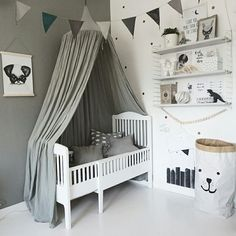 Baby Bedroom, Baby Boy Rooms, Baby Room Decor, Nursery Room, Kids Bedroom, Nursery Decor, Scandinavian Kids Rooms, Baby Barn, Toddler Rooms