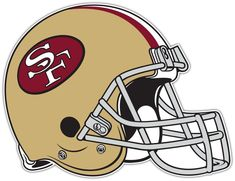 fc3003c32b5 San Francisco 49ers NFL Football Car Bumper Locker Notebook Sticker Decal  5X4 Raiders Helmet