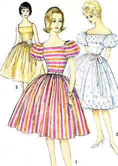 1960s Dress Pattern Simplicity 3774 Sundress or by paneenjerez, $25.00