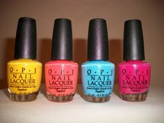 my new OPI Polishes :)