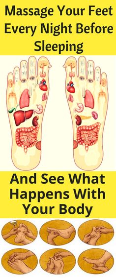 Massage your feet every night before sleeping, and see what happens with your body - Workout Hit