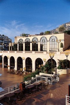 The Fontvieille Shopping Centre. At the exterior of this shopping centre there are three popular attractions. The Prince's  Car Museum, The Stamp and Money Museum, and the Animal Garden, which, at one time, was Prince Rainier's private zoo.The Princely Palace overlooks this site.This is a very popular location.
