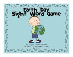 Earth Day Sight Word Game!