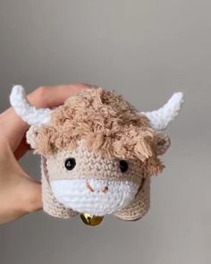 Crochet your own adorable ox with floppy hair, sweet little horns, ears, hooves and a bell! This amigurumi ox is fun to work up with a unique construction method and is the perfect gift for your loved ones born in the Year of the Ox Chinese New Year Monkey, Chinese New Year Zodiac, Chinese New Year Design, Crochet Ideas, Crochet Patterns, Crochet Hats, Häkelanleitung Baby, Leg Chain, New Year Designs