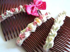 Decoden Hair Comb Kawaii Hair Clip Lolita Gyaru Deco Den Barette