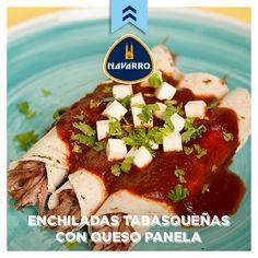 Típicas de la comida mexicana, te damos la receta de estas deliciosas enchiladas.