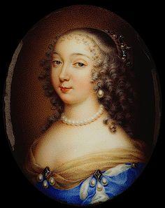 Charlotte-Marie de Lorraine-Guise, mademoiselle de Chevreuse by Jean Petitot