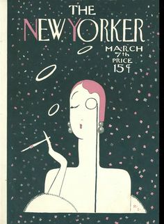 1925 new yorker cover. @Deidré Wallace