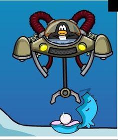 Club Penguin Aqua Grabber