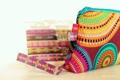 Schnelle Schminktasche und ganz tolle Ethno-Bänder von NANU-NANA | make up zipper pouche and ethno ribbons