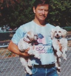 Gary ridgway and his poodles one is named sugar one is named oscar