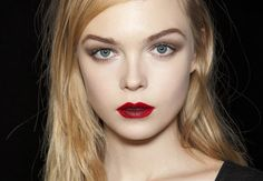 Bold Lips. Mat lipstick is the new sophisticate.