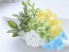 clay flowers... love this designer