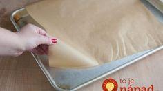 Idáig rosszul használtad a sütőpapírt! Kitchen Hacks, Plastic Cutting Board, Food And Drink, Cleaning, Baking, Recipes, Diy, Cook, Ideas