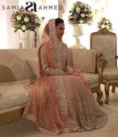 Samia Ahmed bridal