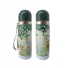 Lovely Moomin thermos flask features the original artwork by Tove Jansson. Bottle is made of stainless steel and it is designed to keep cool drinks cool and hot Voss Bottle, Water Bottle, Moomin Shop, Thermal Flask, Disaster Designs, Tove Jansson, Keep Cool, Original Artwork, Journey