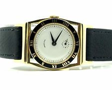VINTAGE HAMILTON PIPING ROCK 747 MANUAL WIND 14KT SOLID YELLOW GOLD WRIST WATCH