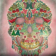 25 Best Enchanted Forest Skull Images On Pinterest