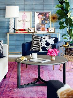 How To Style A Pink Rug