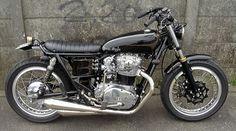 Custom motorcycles by Bratstyle Yamaha XS650