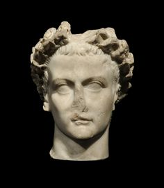 During BRAFA 2016, Galería J. Bagot Arqueología - Ancient Art will show a Roman marble portrait of a crowned Emperor Caligula, 37-41 AD. For some a hero, for others a tyran; Caligula only ruled shortly and was murdered in 41 AD.