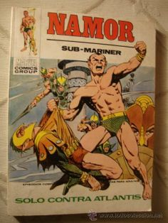 COMIC VERTICE MARVEL COMICS GROUP TACO VOL.1 NAMOR Nº 28 AÑO 1973 - RQ