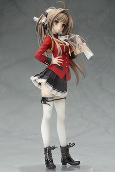 Amagi Brilliant Park Isuzu Sento Scale Statue - Stronger Company - Anime/Manga - Statues at Entertainment Earth Manga Anime, Manga Girl, Action Figures Anime, Amagi Brilliant Park, 3d Art, Otaku, Figure Poses, Anime Figurines, Anime Toys