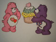 Who doesn't love <3 the care bears!xo