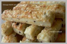 Habverő és fakanál: Sokmagos- füstölt sajtos ropogós sajtos rúd Rum, Macaroni And Cheese, Meat, Chicken, Ethnic Recipes, Food, Mac Cheese, Beef, Meal