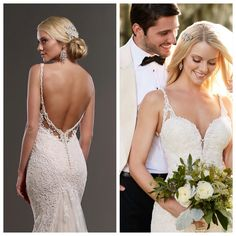 """""""The difference is in the details, and these details are truly breathtaking!  #firstlook #spring2016 #martinaliana #744"""""""