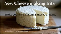 How to Make Cheese from Powdered Milk. making cheese gives you something else to use your powdered milk for other than drinking. Easy and yummy. Queijo Cottage, Fromage Cheese, Lemon Cheese, Emergency Food Supply, Emergency Preparedness, Homemade Cheese, How To Make Cheese, Making Cheese, Survival Food