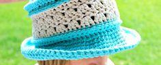 Amazing Grace Blissful Summer Hat… Free Crochet Pattern!
