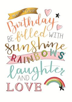 Happy Birthday Wishes For Her, Happy Birthday Wishes For A Friend, Happy Birthday Art, Friend Birthday Quotes, Happy Birthday Wishes Cards, Birthday Blessings, Happy Birthday Pictures, Birthday Greeting Cards, Happy Birthday Sunshine