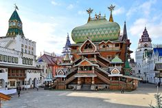 Rússia Moscovo Templos  Cidades