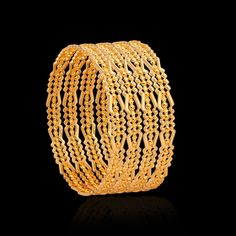 The handmade gold bangles are our prized possession. Acquire these antique gold kundan bangles from Zar Jewels & bring out the charm in every women. Hand Jewelry, Jewelry Box, Gold Pendant, Pendant Jewelry, Kundan Bangles, Ear Chain, Indian Jewelry Sets, Gold Bangles Design, Lehnga Dress
